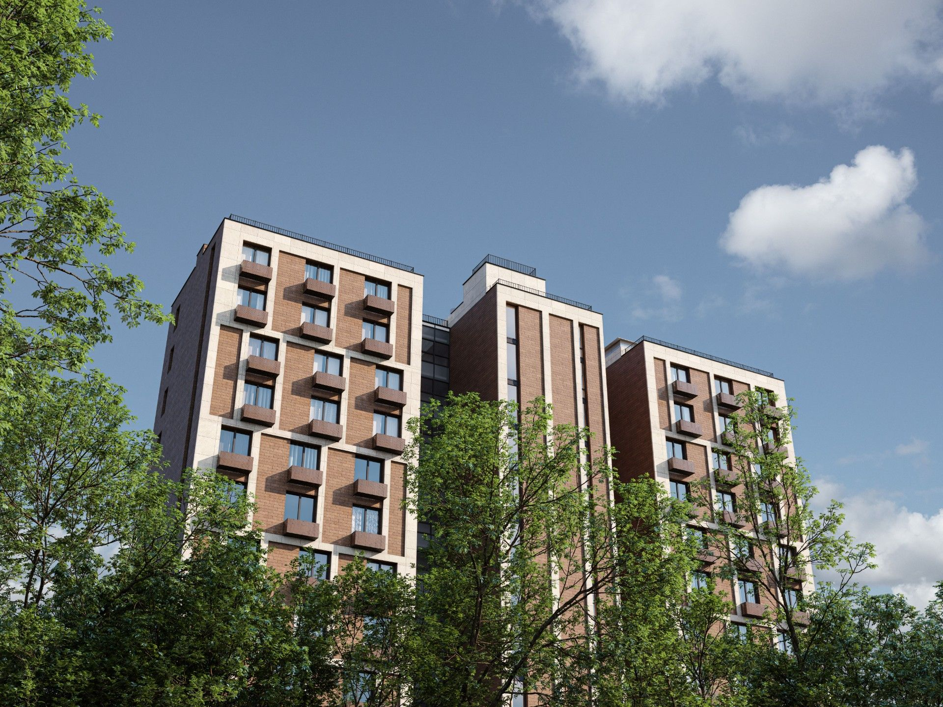 жилой комплекс Счастье на Семеновской