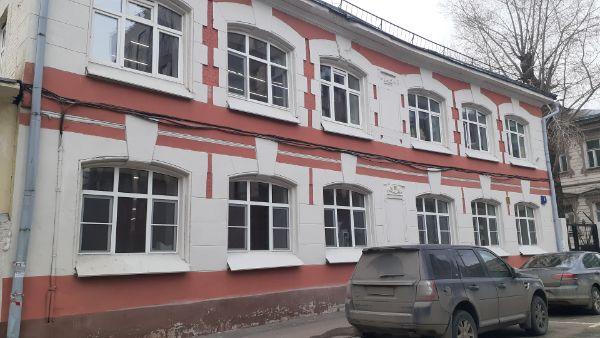 Офисное здание в Большом Саввинском пер., 8с1