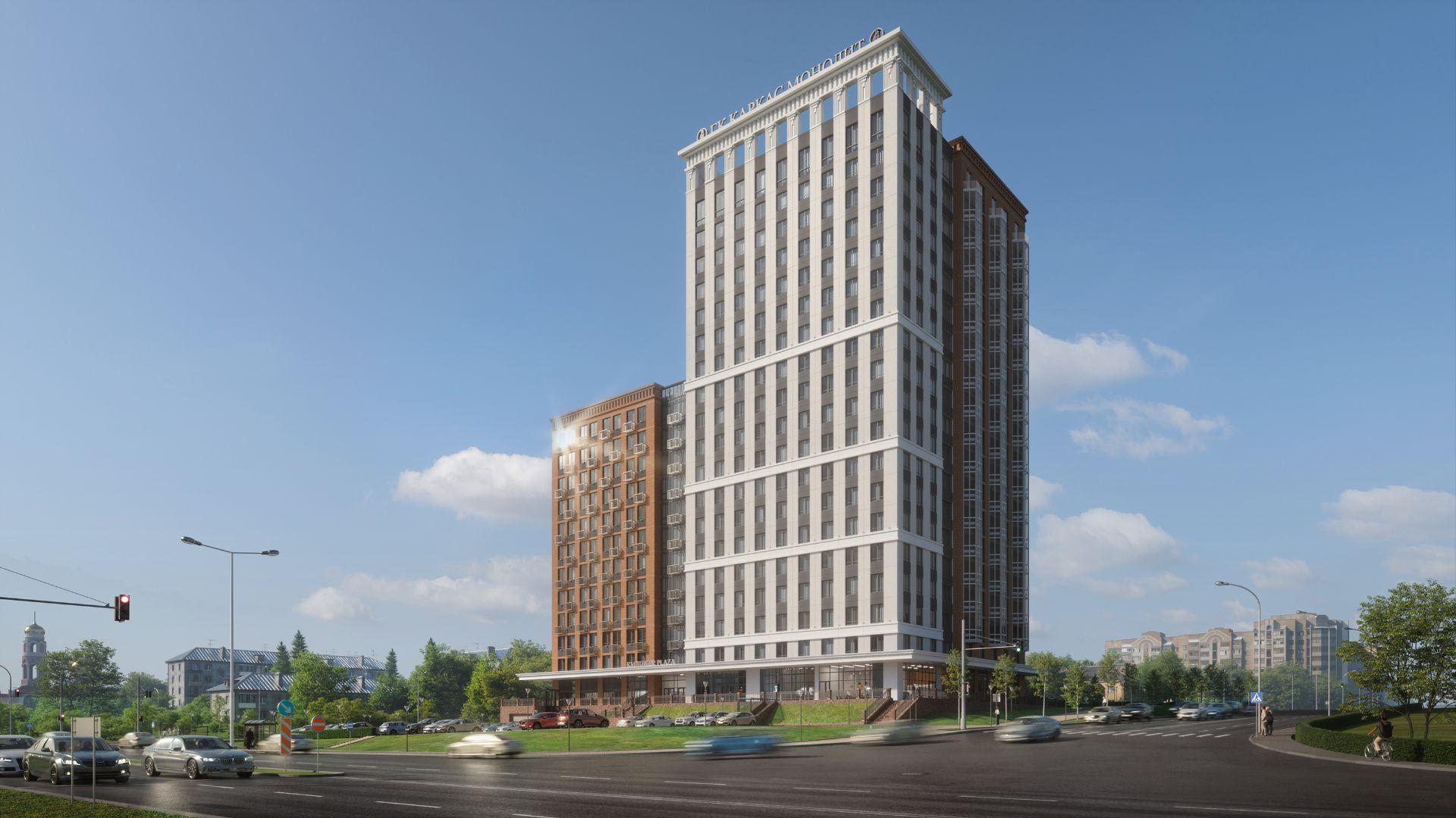 ЖК Апарт-комплекс KM Tower Plaza (Апарт-комплекс КМ Тауэр Плаза)