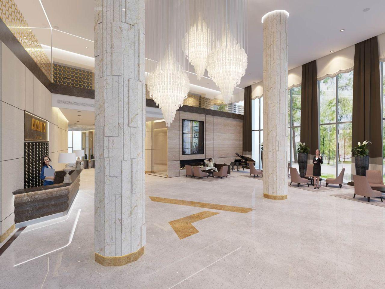 продажа квартир Atlantic Apartments (Атлантик Апартаментс)