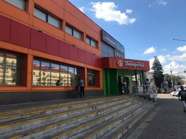 Торговый центр на ул. Михалевича, 6А
