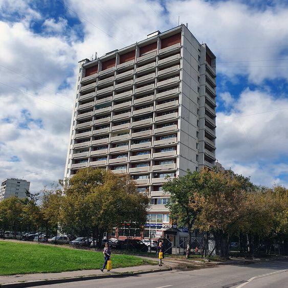 Административное здание в квартале Волжский Бульвар 95, к2