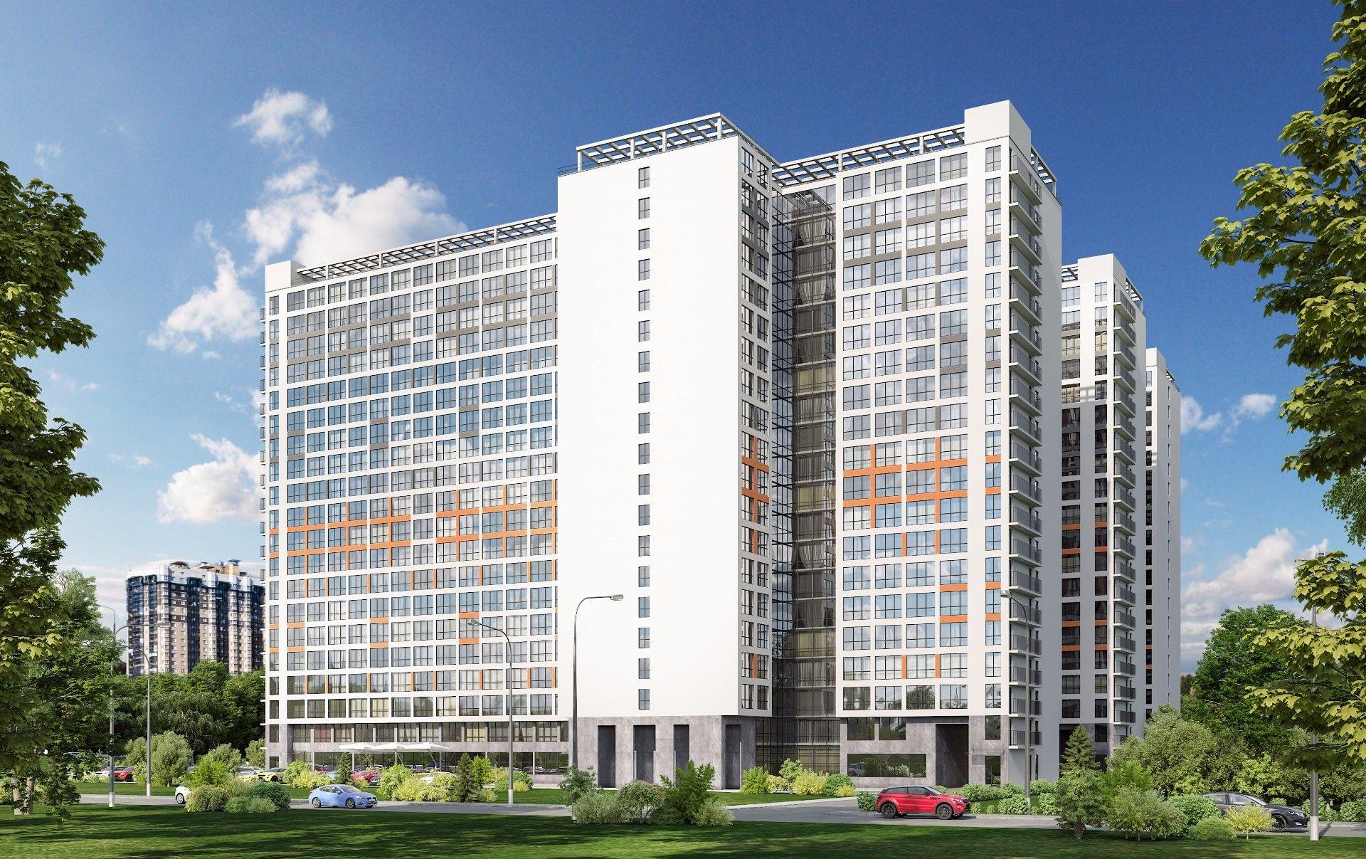 продажа квартир Комплекс апартаментов START