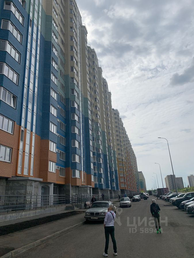Купить однокомнатную квартиру 40м² ул. Корнилаева, 18, Балашиха, Московская область, мкр. Железнодорожный (Центральный), Железнодорожный микрорайон - база ЦИАН, объявление 236960739