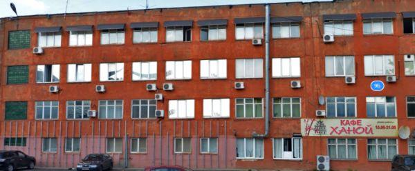Офисное здание на ул. Полушкина Роща, 9Б