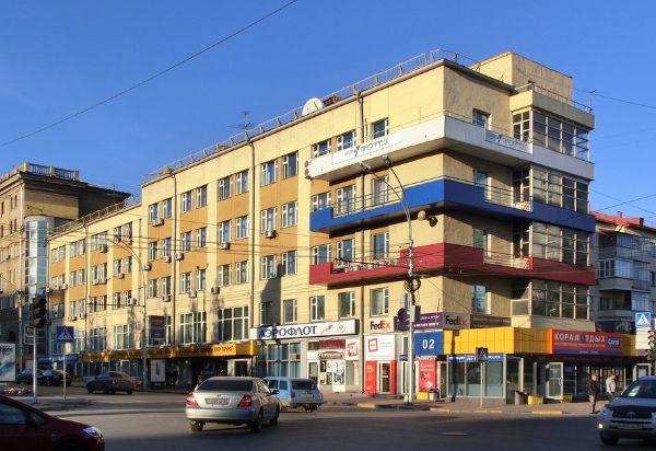 Торгово-офисный комплекс на Красном проспекте, 28