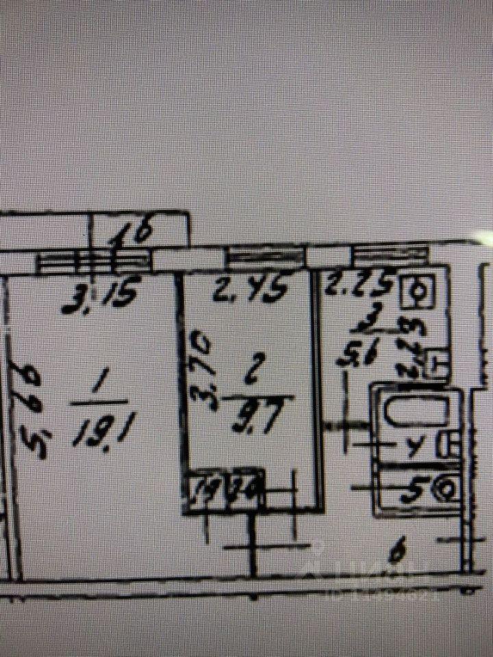 Купить двухкомнатную квартиру 45м² Большая Юшуньская ул., 4, Москва, ЮЗАО, р-н Зюзино м. Каховская - база ЦИАН, объявление 242321598