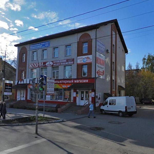 Торгово-офисный комплекс на ул. Тракторная, 48А