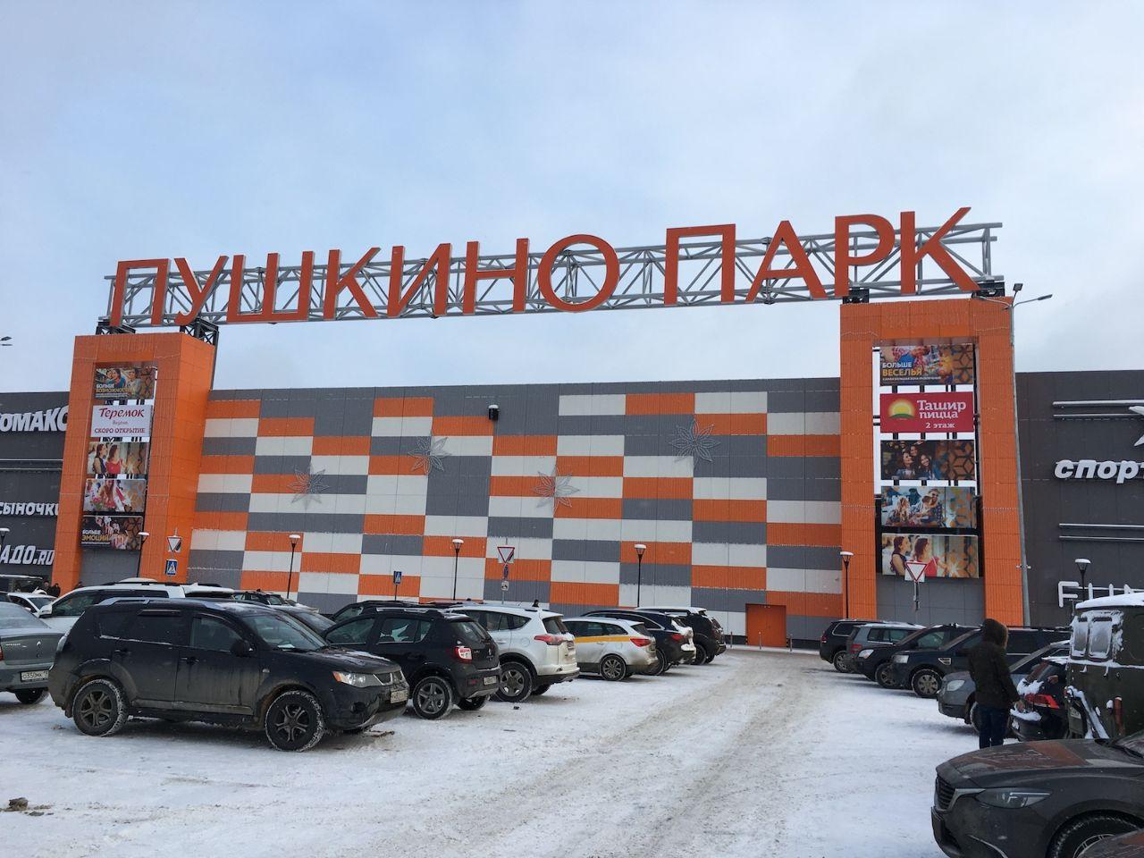 продажа помещений в ТРЦ Пушкино Парк