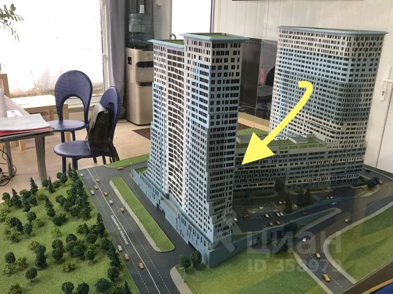 Продается трехкомнатная квартира за 34 850 000 рублей. г Москва, Карамышевская наб, д 2А.