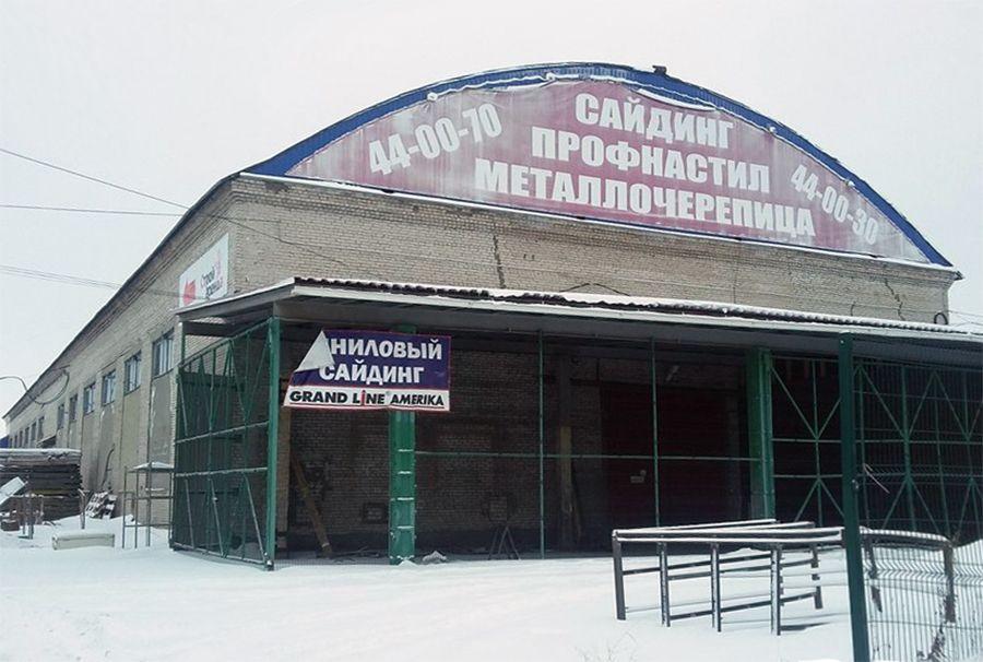 Складском комплексе на Талажском шоссе, 1к1с1