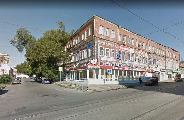 Торгово-офисный комплекс на ул. Галактионовская, 40