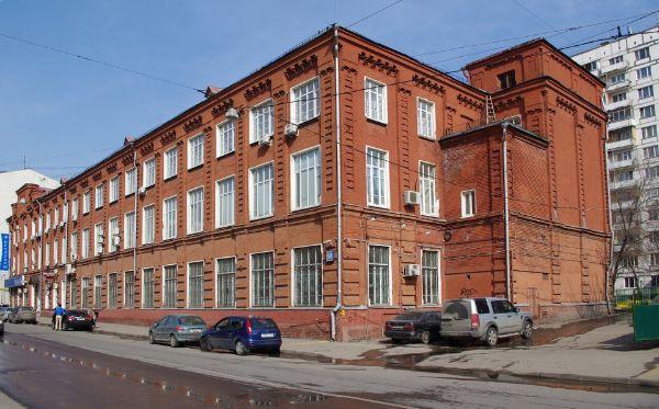 Офисное здание на ул. Щепкина, 58с3