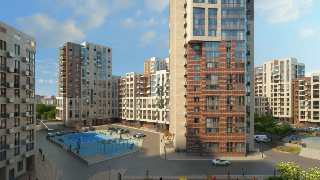жилой комплекс на Успенской