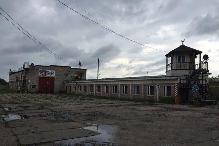Складском комплексе на ул. Адмирала Макарова, 1к2