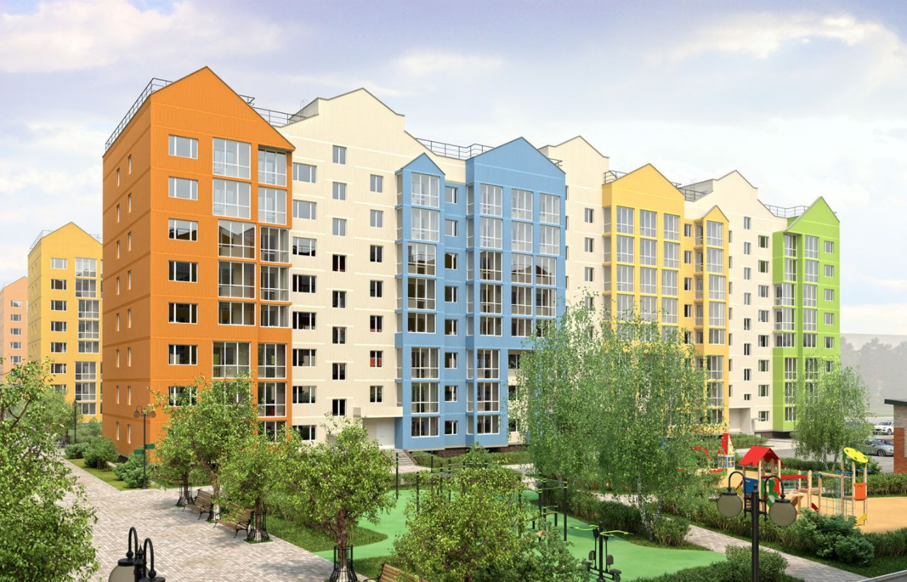 жилой комплекс Цветочный город