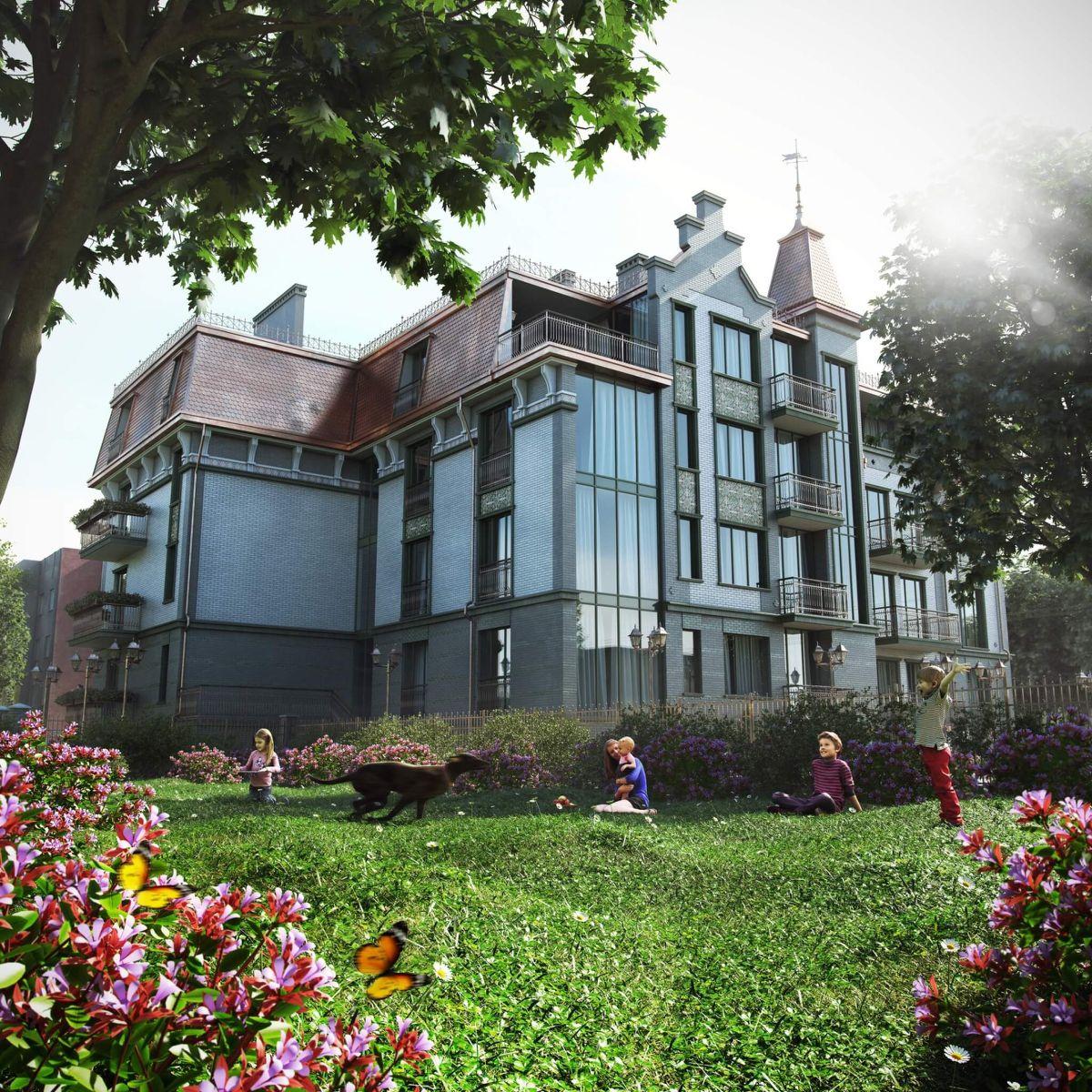 ЖК Дом на Огарева