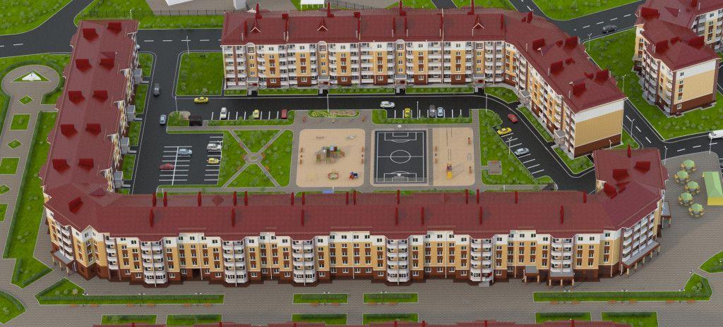 продажа квартир Парадный - 1 в Славном