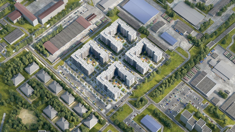 жилой комплекс Дунаевский
