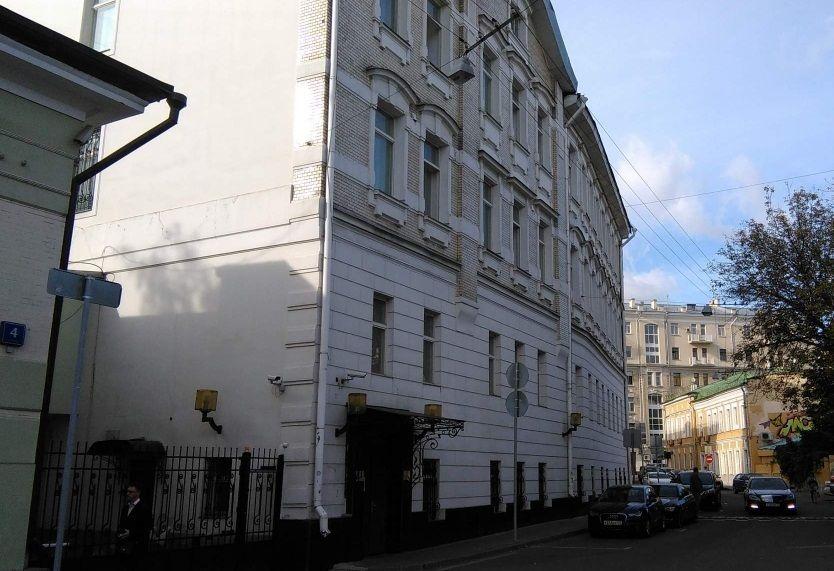 Коммерческая недвижимость Басманный переулок помещение для персонала Поклонная улица
