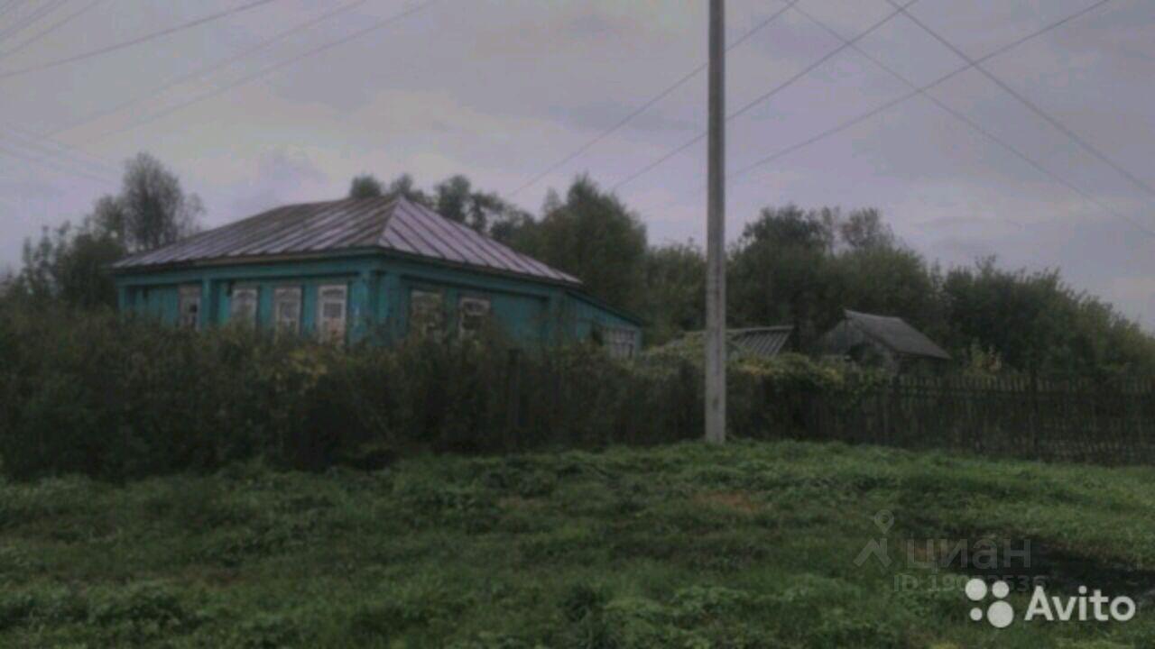 Купить дом 60м² Мордовия респ., Ичалковский район, Гуляево село - база ЦИАН, объявление 229444641