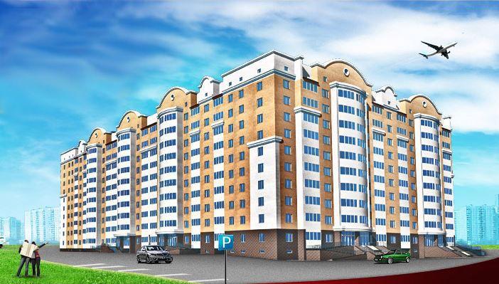жилой комплекс Зелёные Горки-3