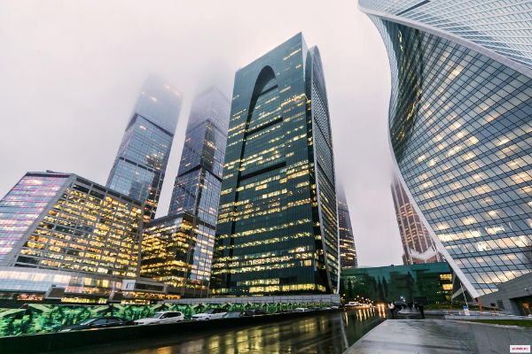 Деловой центр Башня Империя. Москва-Сити