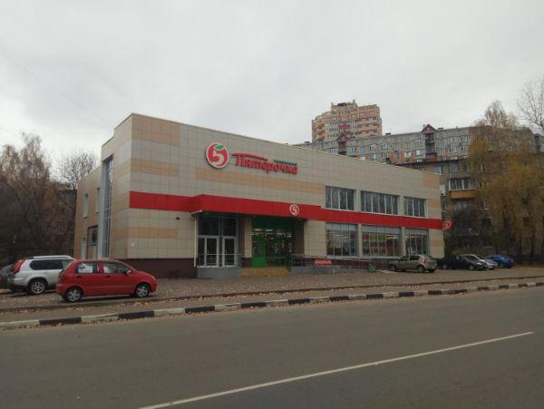 Торговый центр на ул. Степана Степанова, с8