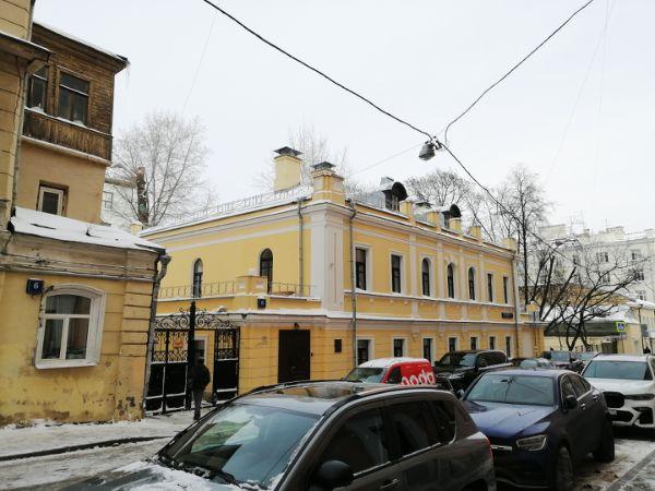 Особняк в Нижнем Кисловском переулке, 6с2