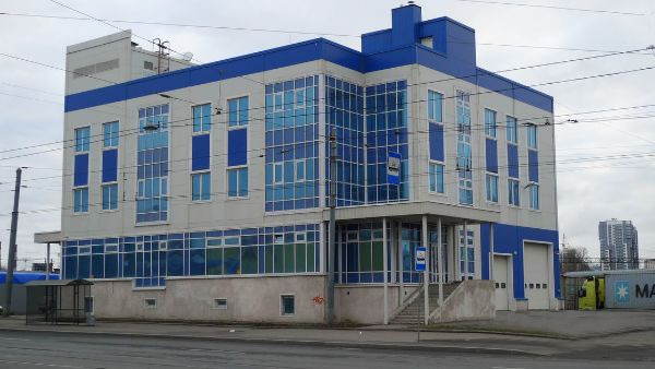 Отдельно стоящее здание на ул. Политехническая, 3к1