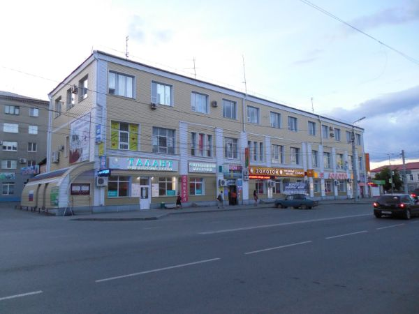 Торгово-офисный комплекс на ул. Куйбышева, 105