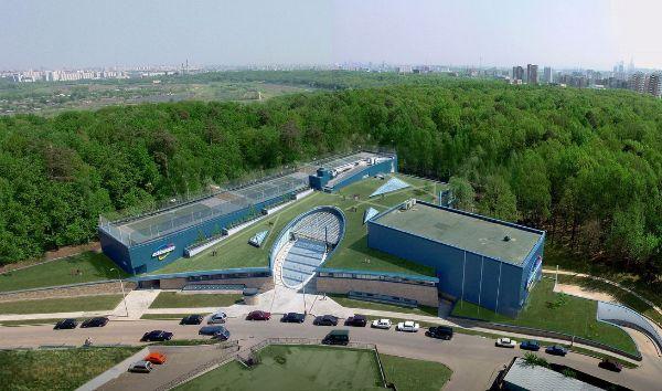 Отдельно стоящее здание на Рублёвском шоссе, 10
