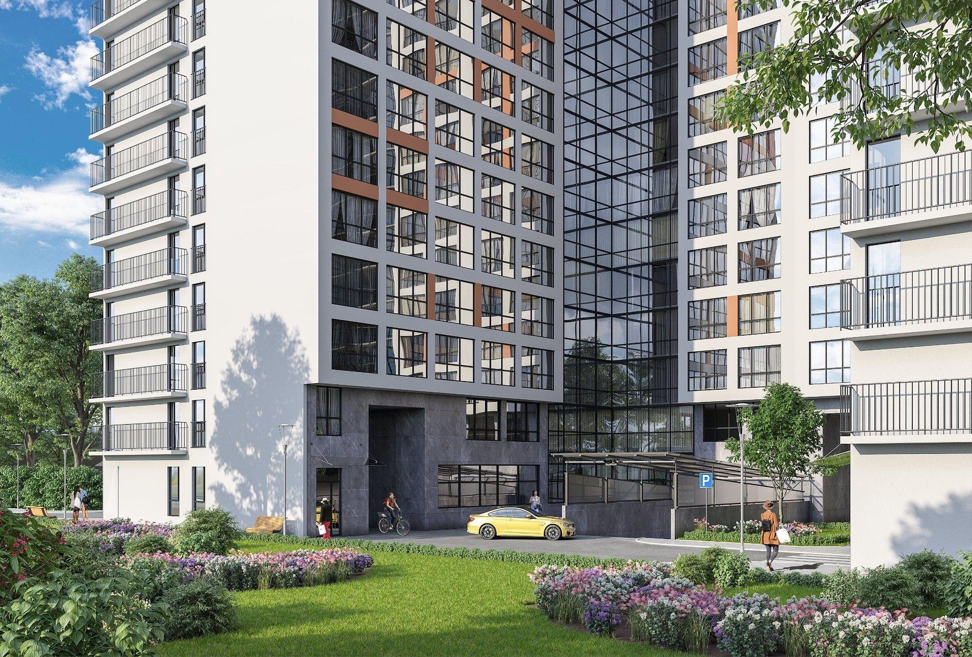 ЖК Комплекс апартаментов START