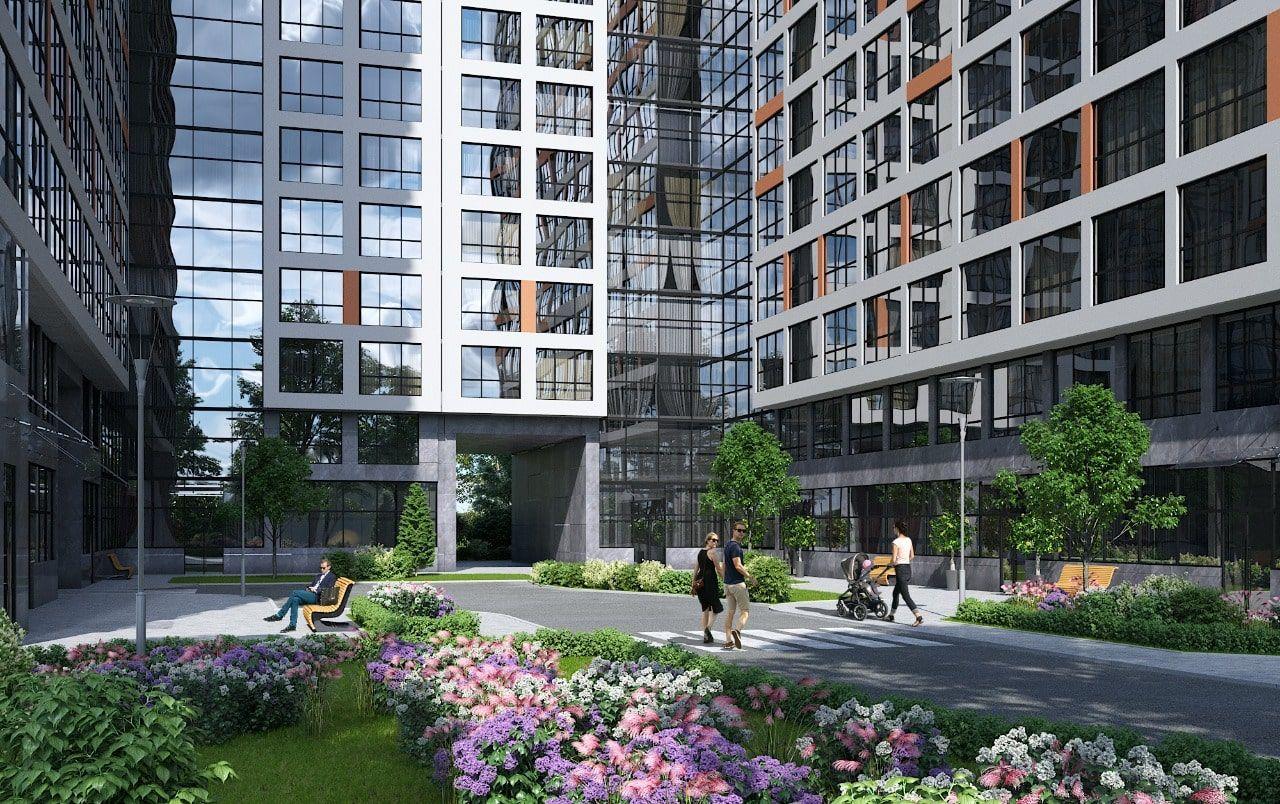 купить квартиру в ЖК Комплекс апартаментов START