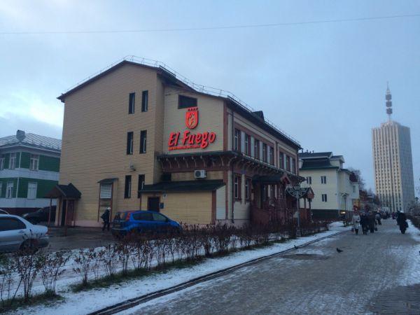 Торгово-офисный комплекс на проспекте Чумбарова-Лучинского, 39