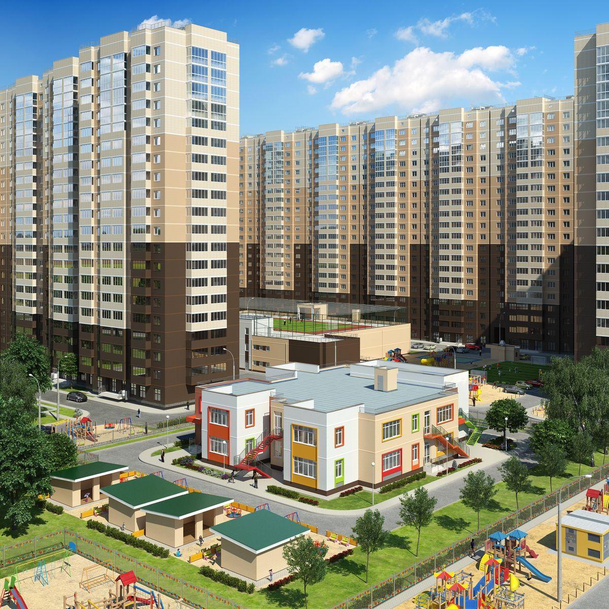 жилой комплекс Стахановская