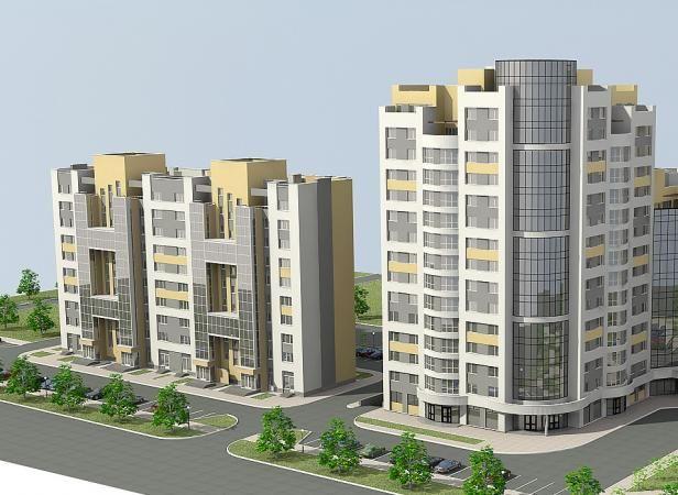 жилой комплекс по ул. Зелёная
