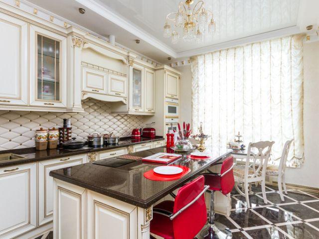 Продается четырехкомнатная квартира за 60 000 000 рублей. г Москва, Рублёвское шоссе, д 107.