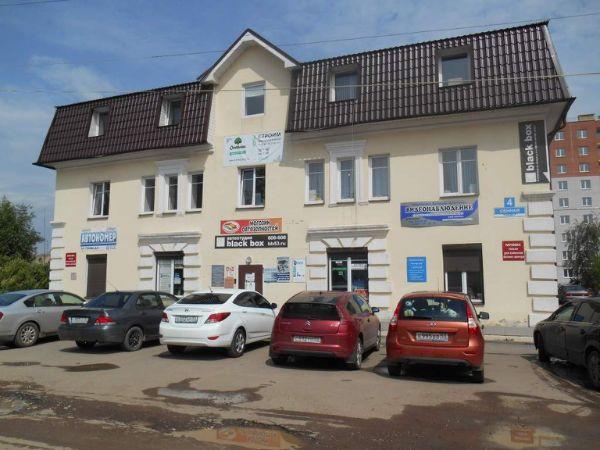Бизнес-центр на ул. Сенная, 4