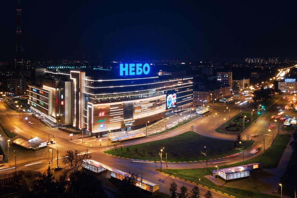 Торгово-развлекательном центре Небо