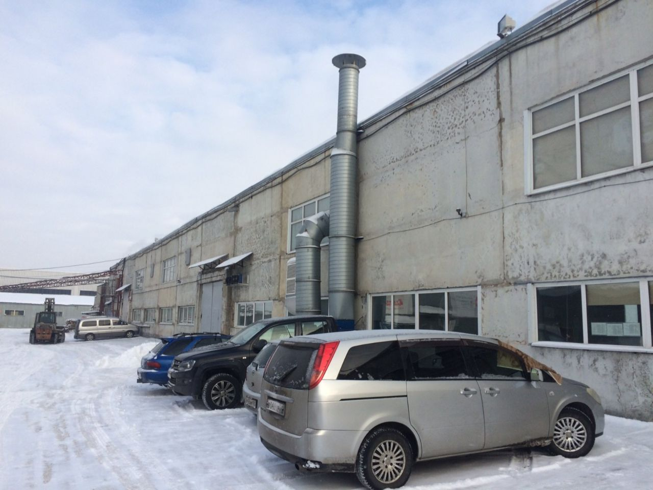 Складском комплексе На Челябинской