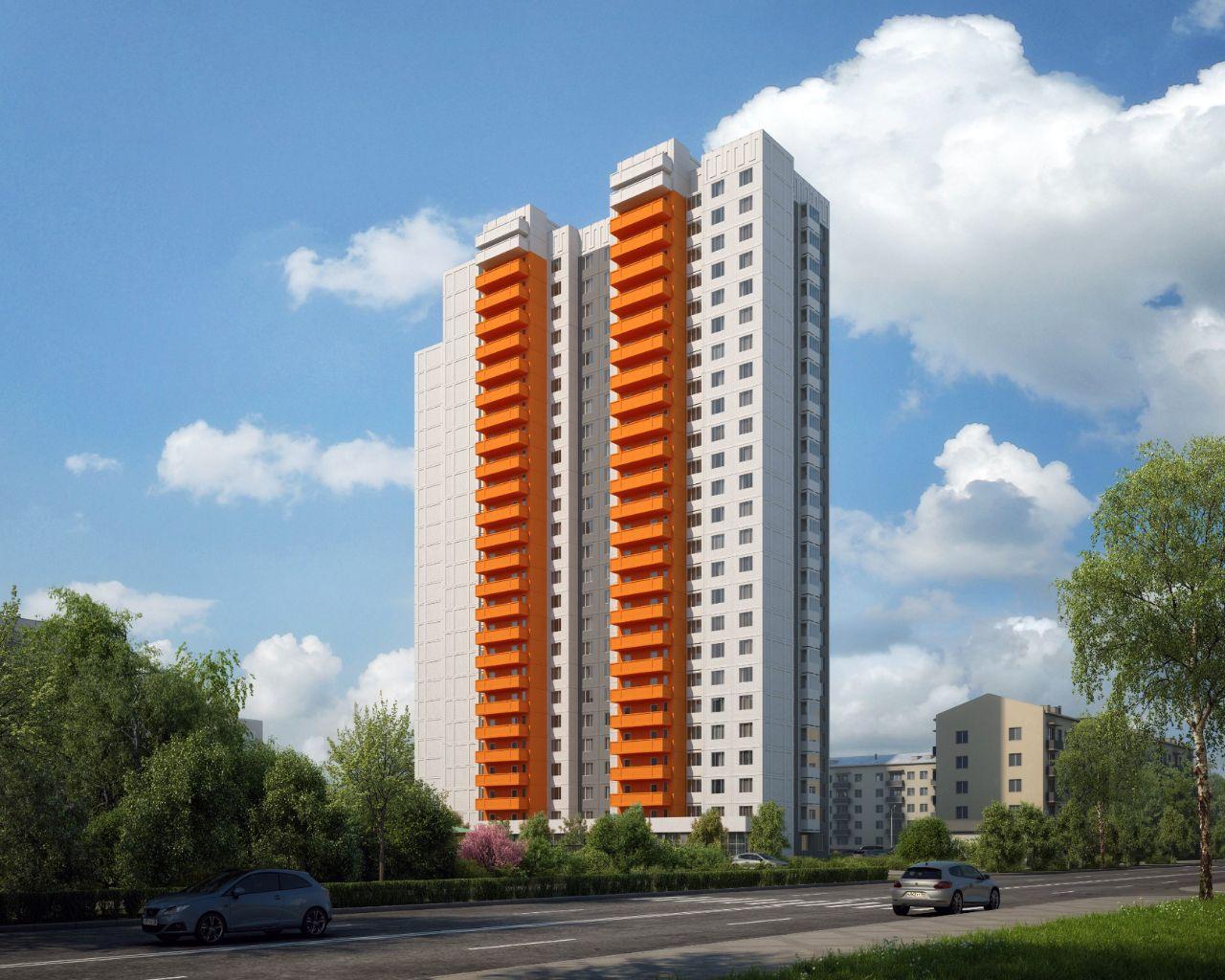 жилой комплекс Ельнинская 14Б