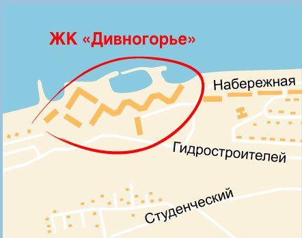 4-я Фотография ЖК «Дивногорье»