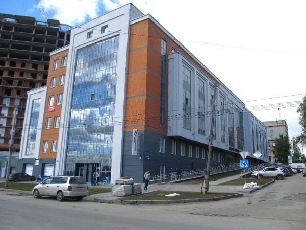 Многофункциональный комплекс на ул. Зыряновская, 63