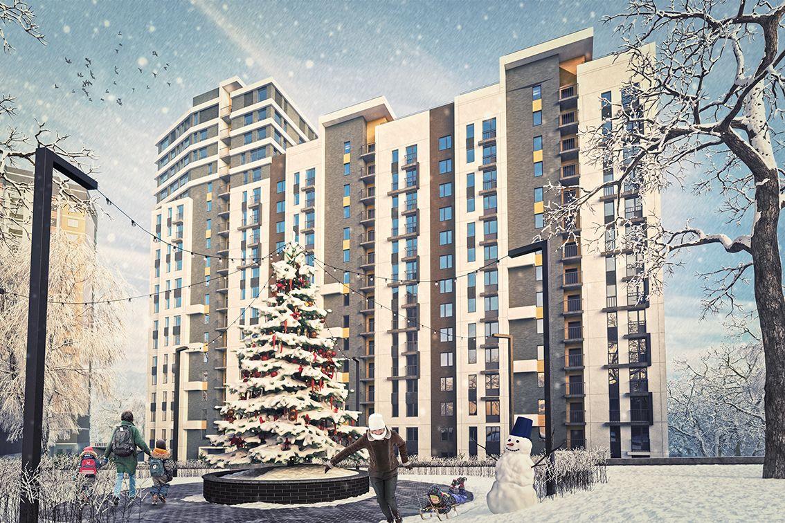 жилой комплекс Заречный квартал