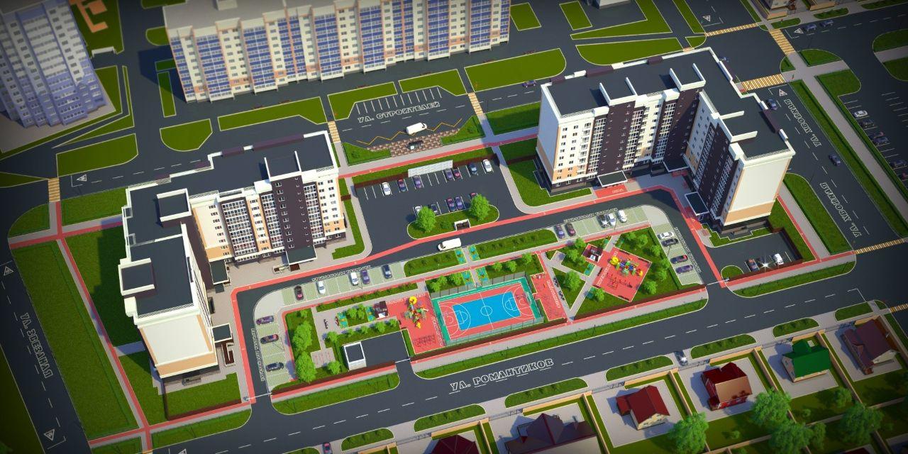 жилой комплекс Новаторов