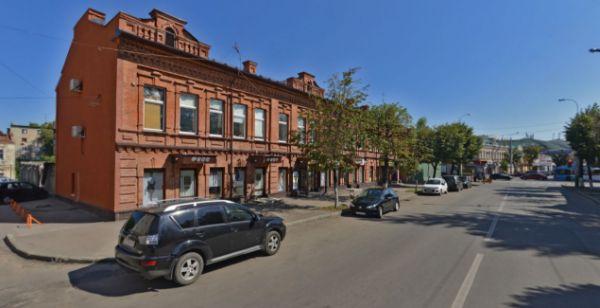 Отдельно стоящее здание на ул. Московская, 107