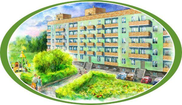 1-я Фотография ЖК «Зеленый дворик»