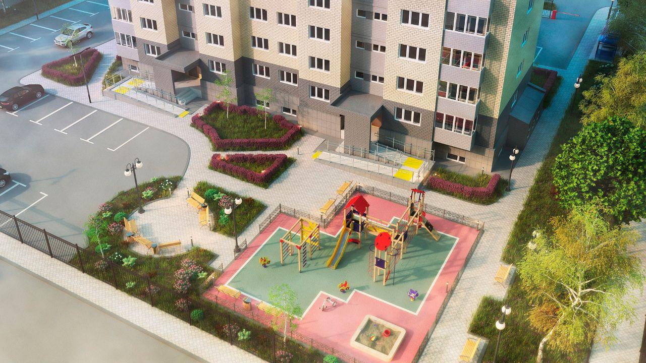 жилой комплекс по ул. Терещенко