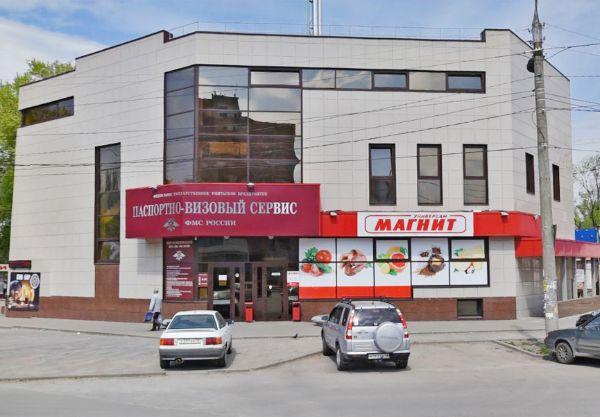 Торговый центр на ул. Зои Космодемьянской, 3А